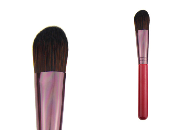 Real Hair Powder Makeup Brush With Opp Poly Bag 45mm Hair Length