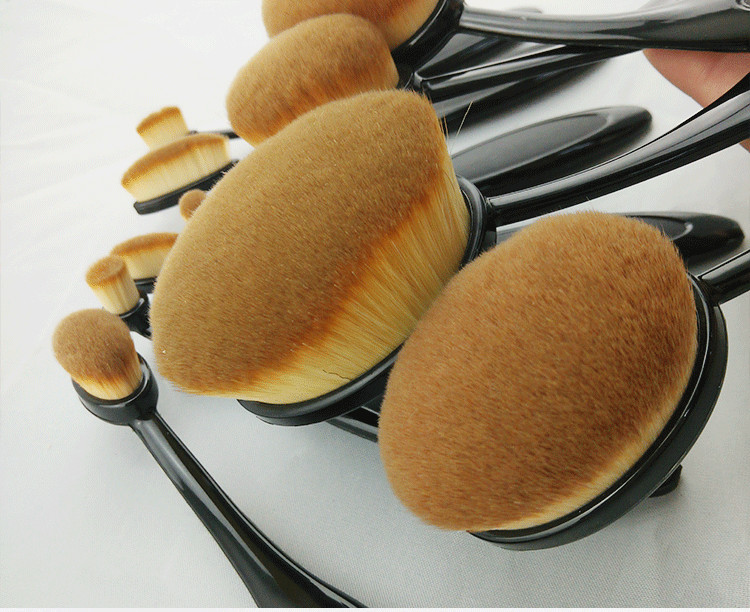 Synthetic Hair Professional Makeup Brush Set / affordable brush set makeup