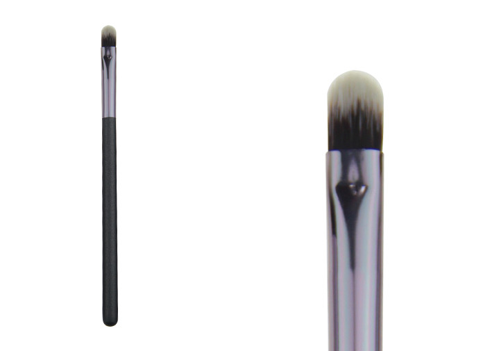Grey Natural Flat Synthetic Concealer Brush Cosmetic Makeup Brushes Set
